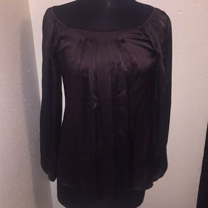 W by Worth Silk Blouse Size P